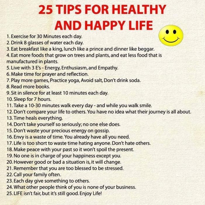 25 tips