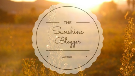 ZG Sunshine Award